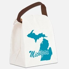 3-michigan.png Canvas Lunch Bag