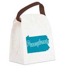3-pennsylvania.png Canvas Lunch Bag