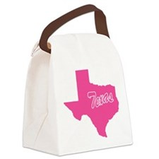 texas.png Canvas Lunch Bag