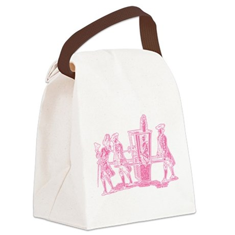 wig-ride_pk.png Canvas Lunch Bag