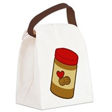 peanut-butter.png Canvas Lunch Bag