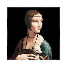 Da Vinci Lady with An Ermine Queen Duvet