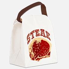 steak.png Canvas Lunch Bag