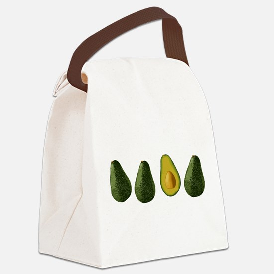 avocados_mug.png Canvas Lunch Bag
