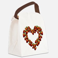 strawberry-heart.png Canvas Lunch Bag