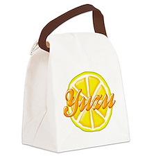 yuzu_tr.PNG Canvas Lunch Bag