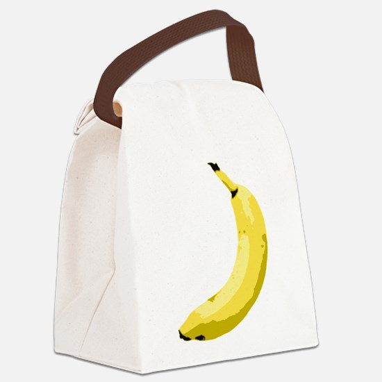 banana_up.gif Canvas Lunch Bag