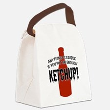 KETCHUP.png Canvas Lunch Bag