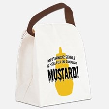 MUSTARD.png Canvas Lunch Bag