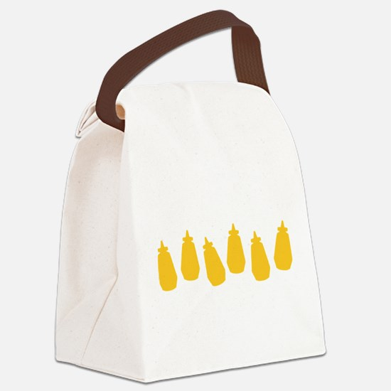 MUSTARD-ROW.png Canvas Lunch Bag