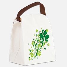 SHAMROCK-SWIRL.png Canvas Lunch Bag