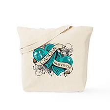 Cervical Cancer Survivor Tote Bag