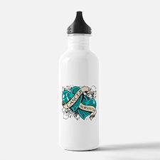 Cervical Cancer Survivor Water Bottle