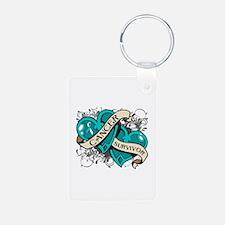 Cervical Cancer Survivor Keychains