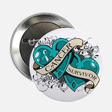 "Cervical Cancer Survivor 2.25"" Button"