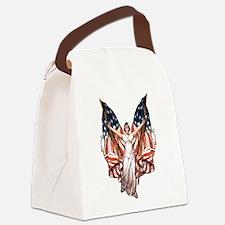 vintage-flag-bearer.png Canvas Lunch Bag