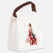 flag-nurse2.png Canvas Lunch Bag