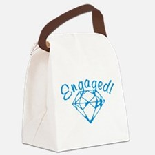 engaged.png Canvas Lunch Bag