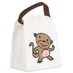 monkey-dancing.png Canvas Lunch Bag