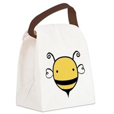 2-cute-bee_tr.png Canvas Lunch Bag