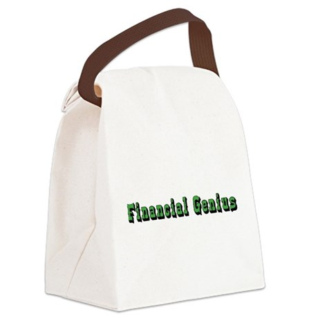 financial-genius.png Canvas Lunch Bag
