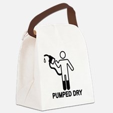 gas-pumped-dry.gif Canvas Lunch Bag