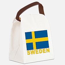 sweden_b.gif Canvas Lunch Bag