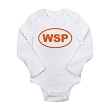 Weird Stinky People Long Sleeve Infant Bodysuit