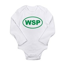 Weird Stinky People Long Sleeve Infant Bodysuit