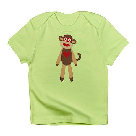 Cute Sock Monkey Infant T-Shirt