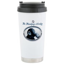The Thinking Monkey Travel Mug