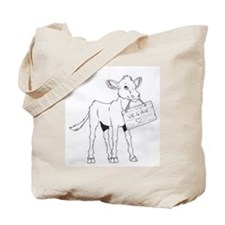Cows Love Vegans Tote Bag