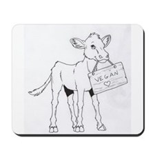 Cows Love Vegans Mousepad