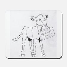Cows Love Vegans Mousepad