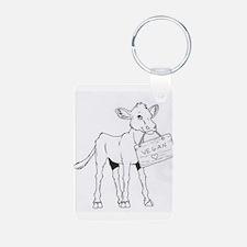 Cows Love Vegans Keychains