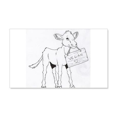 Cows Love Vegans 20x12 Wall Decal