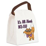 FIN-all-about-meow-cartoon-cat.png Canvas Lunch Ba