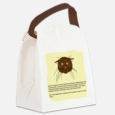 cats-diary.tif Canvas Lunch Bag