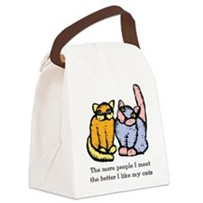 like-my-cat.tif Canvas Lunch Bag