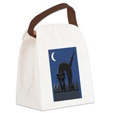 FIN-scaredy-cat.png Canvas Lunch Bag