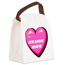 icelandic-horse-FIN.tif Canvas Lunch Bag