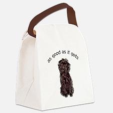 Good Affenpinscher Canvas Lunch Bag