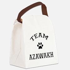 Team Azawakh Canvas Lunch Bag