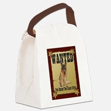Wanted Poster Belgian Tervure Canvas Lunch Bag