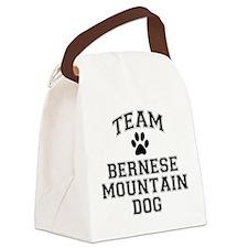 Team Bernese Mountain Dog Canvas Lunch Bag