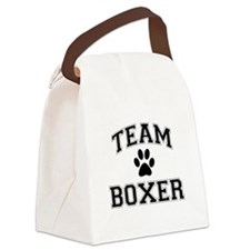Team Boxer Canvas Lunch Bag