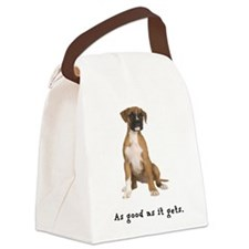 FIN-boxer-fawn-good.png Canvas Lunch Bag