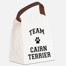 Team Cairn Terrier Canvas Lunch Bag