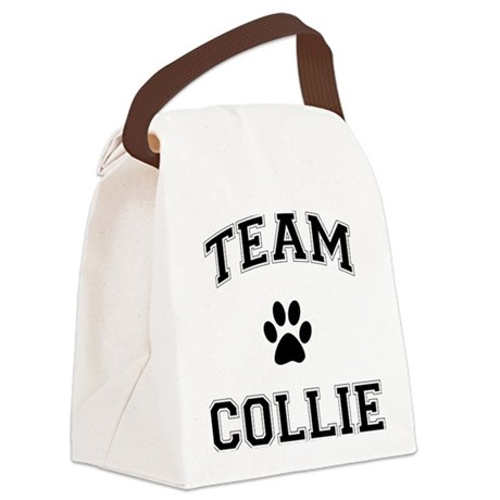 Team Collie Canvas Lunch Bag