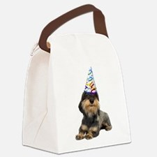 FIN-dachshund-wirehaired-party.png Canvas Lunch Ba